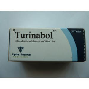 Turinabol 4-Chlorodehydromethyltestosterone tablets 10mg
