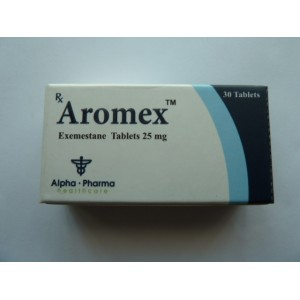 Aromex Exemestane 25mg 30 tablets