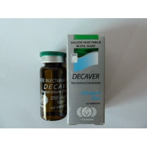 Decaver Nandrolone Decanoate 250mg/ml 10ml